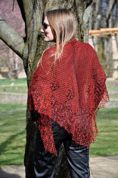Bloody Dream  Knitting pattern by Dyeforwool on Etsy, €4.00