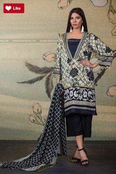 Pakistani Bridal Wear, Pakistani Dresses, Fashion 2017, Womens Fashion, Pakistan Fashion, Winter Collection, Indian Fashion, Kimono Top, Fall Winter