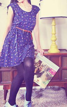 Dress with dark tights and light loafers. Ғσℓℓσω ғσя мσяɛ ɢяɛαт ριиƨ>>>> Ғσℓℓσω: нттρ://ωωω.ριитɛяɛƨт.cσм/мαяιαннαммσи∂/
