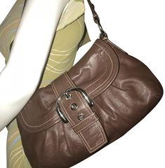 bd02202a5c5c5 Coach Soho Purse F15204 Brown Leather Hobo Bag - Tradesy