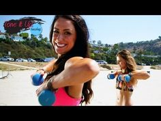 Fine Toning Arm Routine : Tone It Up Tuesdays from LiveStrongWoman Fitness Routines, Fitness Tips, Health Fitness, Zumba, Sup Yoga, Sweat It Out, Toned Arms, Tone It Up, I Work Out