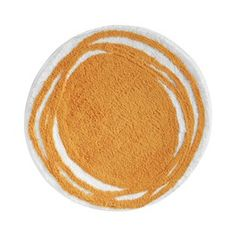InterDesign Doodle Rug - Orange (24 Round)