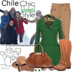 Closet di Cló - Estilo Chile - Para as queridas amigas Simone, Rose, Alessandra e Andreza - em agosto de 2013.