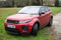 The Range Rover Evoque 2016 takes an already great car and makes it even better. Externally the new Evoque is more aggressive looking, yet Range Rover Evoque 2016, Range Rover Car, First Drive, Exotic Cars, Dream Cars, Automobile, Pocket, Vehicles, Vroom Vroom
