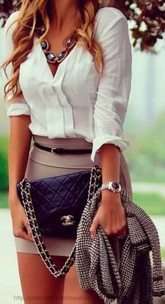 I LOVE this outfit for work!! #Sexy and #Classy at the same time!
