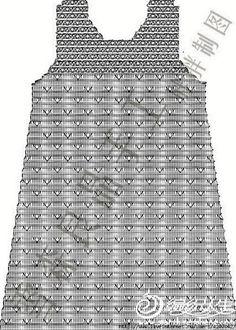 Модное детское платье крючком. Детские платья с подиума 2017 года