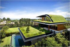 Arquitectura sustentable y loca