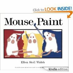 Amazon.com: Mouse Paint: Lap-Sized Board Book eBook: Ellen Stoll Walsh: Books