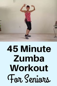 Best Exercise For Hips, Hip Workout, 45 Minute Workout, Workout Ideas, Zumba Routines, Dance Workout Videos, Arthritis Exercises, Fitness Workout For Women, Zumba Fitness