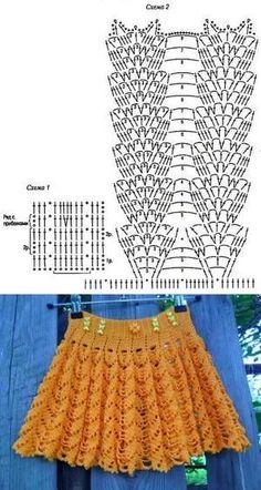 Fabulous Crochet a Little Black Crochet Dress Ideas. Georgeous Crochet a Little Black Crochet Dress Ideas. Diy Crochet Bikini, Pull Crochet, Gilet Crochet, Crochet Shawl, Crochet Lace, Easy Crochet, Crochet Skirt Pattern, Crochet Skirts, Womens Skirt Pattern
