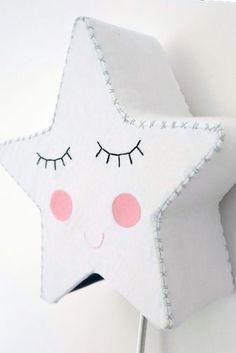 Sleepy Star Light - White