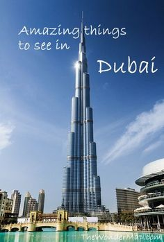 #Dubai has a way to do things like no where else... Click to read our Guide to the Man-Made City