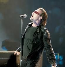 Bono's passion is coming through, as always
