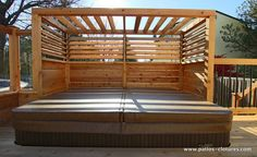 built-in spa patio Brunelle 5