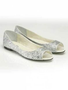 15773015c8a042 Wedding Flats — 10 Pairs You ll Love!