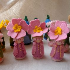 Primrose Garden Gnome Waldorf Storytelling Natural dollhouse play