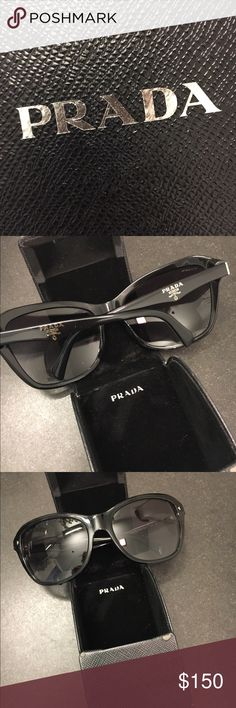 7b98e74ade9 Prada Sunglasses (Cat eye 😼) They are beautiful but as stated before want  more aviators (hence lost all my aviators but they suit my face well) Prada  ...