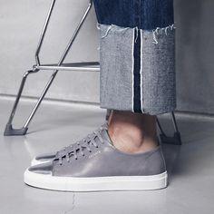 Axel Arigato Cap-toe | www.axelarigato.com | #axelarigato #sneakers #leather #shoes