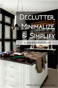Declutter, minimalize, and simplify as you pack to move | Nick Abbadessa Real Estate