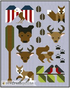 Sew Fresh Quilts: Forest Friends quilt pattern - Coming Soon!