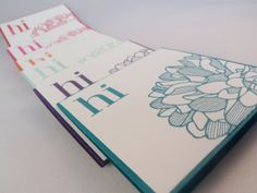 Stampin Up! Regarding Dahlias Set of 6 Cards