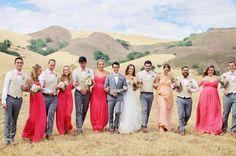 La Cuesta Ranch wedding party