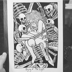 "5,640 Likes, 27 Comments - Matt Bailey (@baileyillustration) on Instagram: ""Dying of the Light."""