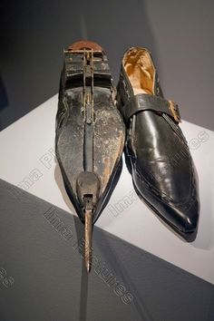 Rosa Klebb  Flick-knife shoes,From Russia with love,1963,Designing 007,exposition,Barbican,London