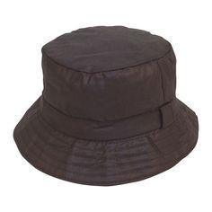 22cc4db4cf4 Wax bush bucket rain hat waxed country olive navy black mens ladies uk  seller