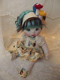 OOAK Mattel My Child Doll ~ Little Mushroom Baby by jesska80, via Flickr