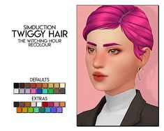 witching hour recolour - twiggy hair by the mesh is required 🍒 dl (sfs) Sims 4 Cc Skin, Sims 4 Mm Cc, Cartoon Network Adventure Time, Adventure Time Anime, Twiggy Hair, Sims Stories, Maxis, Sims 4 Cas, Sims 4 Cc Finds