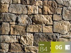 Rivestimento di facciata in pietra artificiale BADIA P84 Collezione Profilo SQUADRATO by GEOPIETRA®
