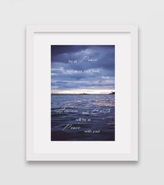 Blue Ocean and Sky Art Photography Motivational by HawaiiPhotoArts