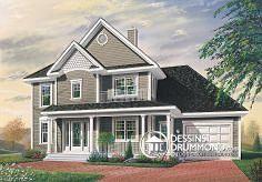 Plan de maison no. W2865 de dessinsdrummond.com 99.000$
