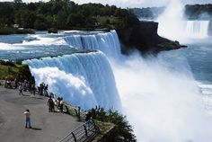 Niagara Falls. Havn't been there since i was 3 and i still remember the red lights on the water scaring the heck outa me! LOL