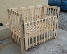 Baby Crib | Pallet Ideas