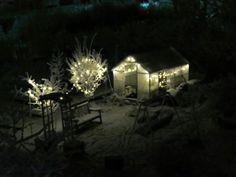 My frozen garden Green Gables, Frozen, Cabin, House Styles, Garden, Home Decor, Garten, Decoration Home, Room Decor