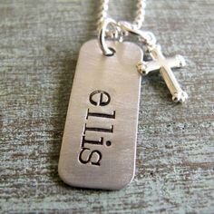 Whole Soul Jewelry - First Communion Personalized Necklace, $29.00 (http://www.wholesouljewelry.com/first-communion-personalized-necklace/)