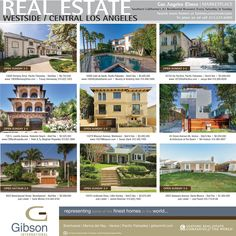 Did you see our cover in last Sunday's LA Times? We've got your Westside Real Estate needs covered.