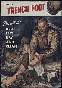Beware of the trench foot