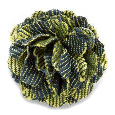 Mini Oahu Small Lapel Flower | CuffLinks.com | Hook & Albert