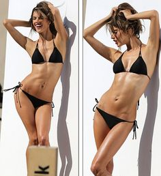 Jetss | Another day at the office! Alessandra Ambrosio takes advantage of the California sun for photo shoot