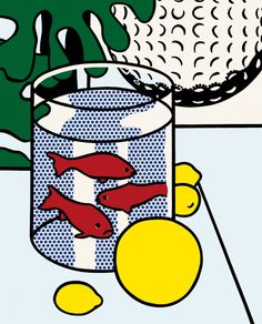 Roy Lichtenstein, Still Life with Goldfish, 1972