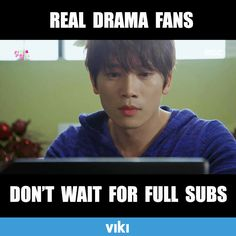 When you realize your drama addiction has gotten serious. Find your new obsession on Viki.