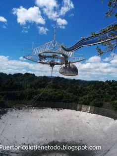 Puerto Rico lo tiene todo: Radiotelescopio de Arecibo, Puerto Rico