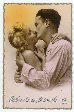 Public Domain - Postcard Images, Lovers