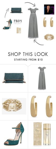 """""""Prom Night #12"""" by quinn-avina ❤ liked on Polyvore featuring Sole Society, Little Mistress, White House Black Market, SJP, Oscar de la Renta and Prom"""