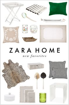 Zara Home favorites