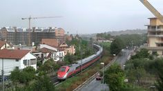 ETR 500 in transito a Monterotondo - ETR 500 running in Monterotondo