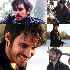 Colin O'Donoghue -Killian Jones - Captain Hook on Once Upon A Time 5X10
